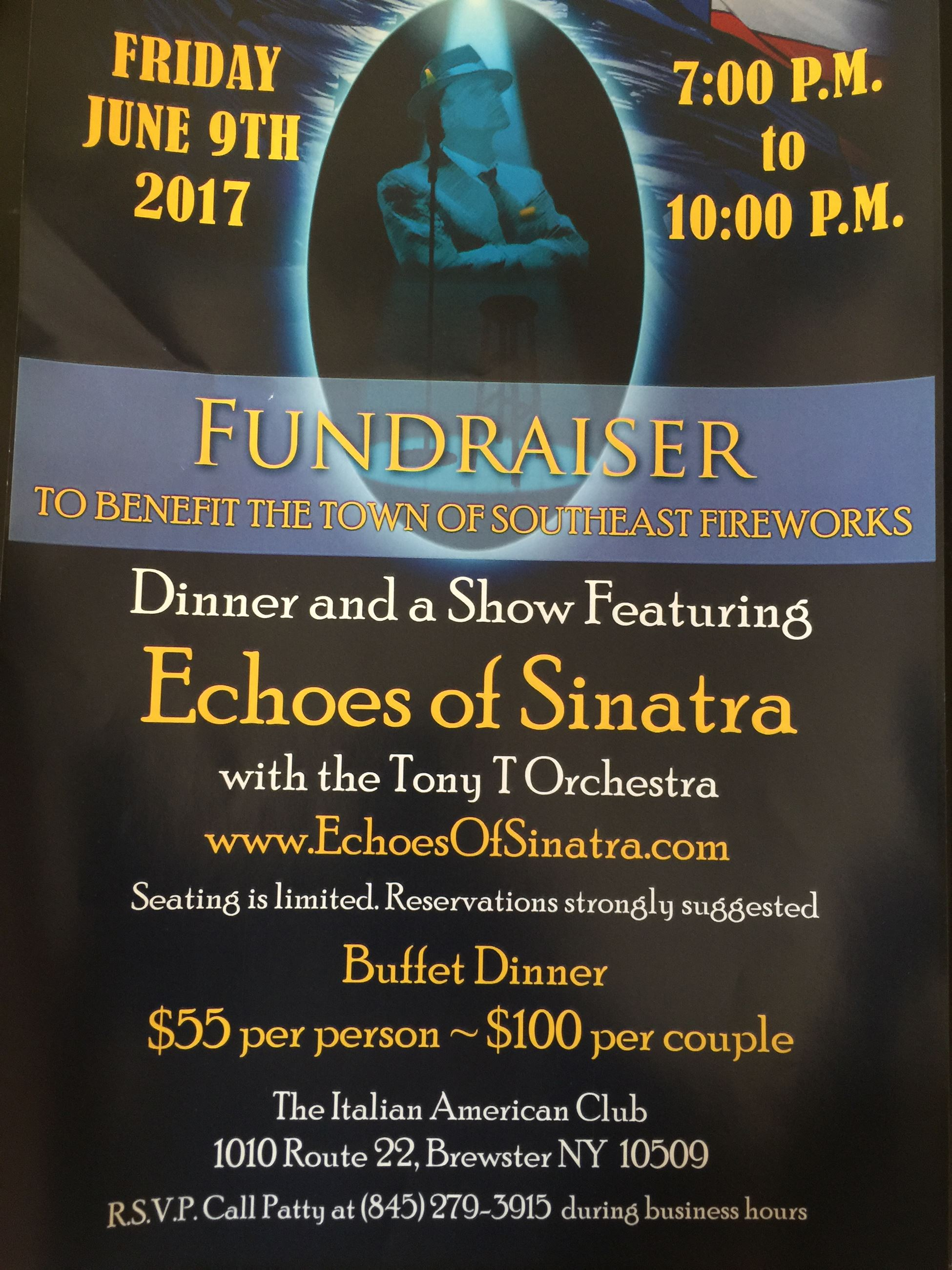 Echoes of Sinatra Fundraiser